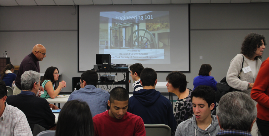 12-2-13 NYSSPE Rockland Chapter Holds Successful STEM Engineering Conference for High School Students