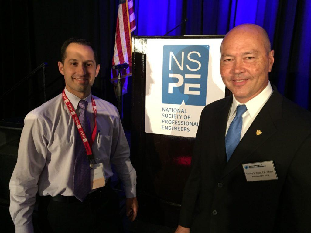 NSPE President Tim Austin