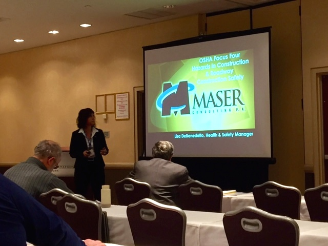 Lisa DeBenedetto of Maser Consulting Speaking at NYSSPE Event