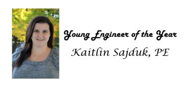 Congratulations to Young Engineer of the Year Kate Sajduk, P.E.
